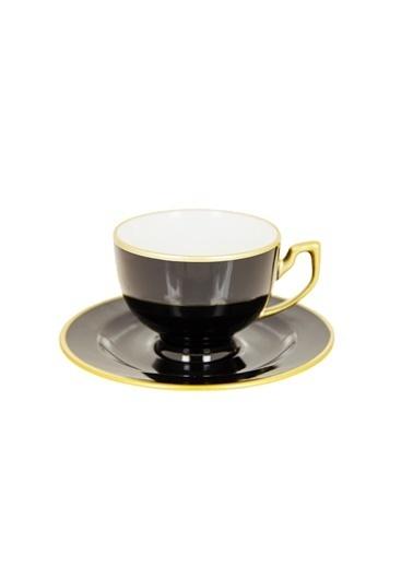 Decoristan Siyah İnci Kahve Seti 4'lü Siyah